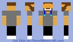 Smiling goatee dude Minecraft Skin