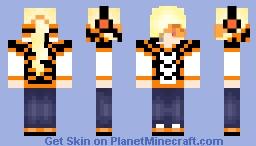 Mailo w/ Headset and Vizor Minecraft Skin