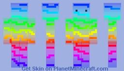 Synthwave Minecraft Skin