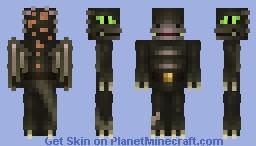 Fafnir, nordic knight slayer Minecraft Skin