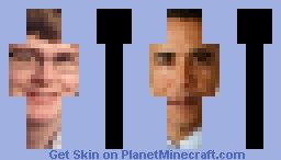 uh.. Carson and obama Minecraft Skin