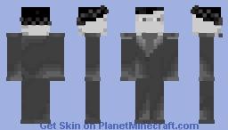 dark elf businessman Minecraft Skin