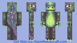 Lizard (prism palette contest,challenge4) Minecraft Skin