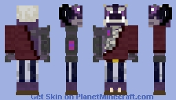 Horned Orc Alien Minecraft Skin