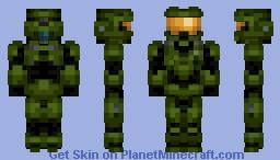 Master Chief (Render Inside) Minecraft Skin