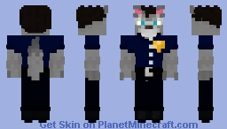 omg Avatar2003 became a furry wolf!!! Minecraft Skin