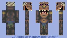Homo erectus Minecraft Skin