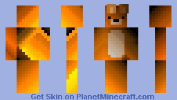 beautiful bear Minecraft Skin