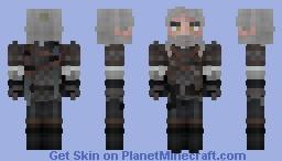 Geralt of Rivia    Witcher 3 Minecraft Skin