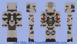 Rhino (Spider-Man PS4) Minecraft Skin