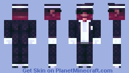another coffin guy Minecraft Skin