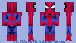 Spider-Man | Spider-Man TAS 1994 Minecraft Skin