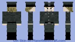 German Officer Minecraft Skin