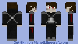 Darth Vexus (no lightsaber) Minecraft Skin