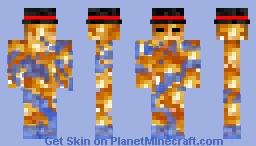 moist flame Minecraft Skin