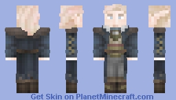 Aspirant High Elf (Do not use on any RP server) Minecraft Skin