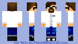 Doctor Gordon Freeman in half life Minecraft Skin