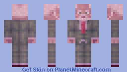 when christmas ends Minecraft Skin