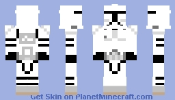 Phase I Clone Trooper (Prequel) Minecraft Skin