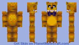 Fredbear Minecraft Skin