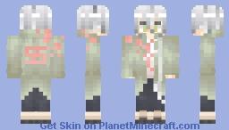 Nagito Komaeda Minecraft Skin