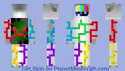 Mad TV Minecraft Skin