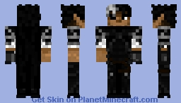 Guts - The Black Swordsman (Berserk) Minecraft Skin
