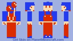 Balloon Fighter (Balloon Fight NES) Minecraft Skin