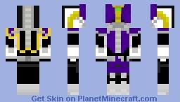DEN O NEGA FORM Minecraft Skin