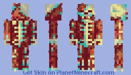Sunburnt (palette challenge Wildcard_Gamer) Minecraft Skin