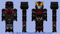 GAT-X207 Blitz Gundam Minecraft Skin