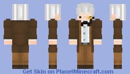 Old Timer Western Suit Minecraft Skin