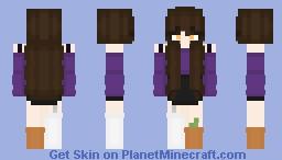 Halloween Casual Minecraft Skin