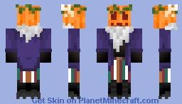 Pumpki original Minecraft Skin