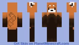 Norique, the Red Panda Minecraft