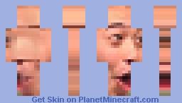 PogChamp! Minecraft Skin