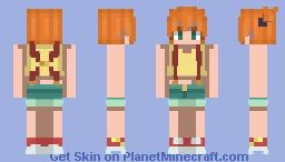 Pokemon - Misty Minecraft Skin