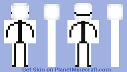 pokerface stick guy Minecraft Skin