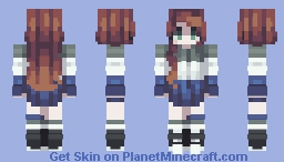 Pokimane Minecraft Skin