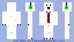 Polar bear with Headphones Minecraft Skin