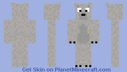 Polar Bear Cartoon Version (request) Minecraft Skin
