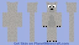 Polar Bear Cartoon Version (request) Minecraft Skin