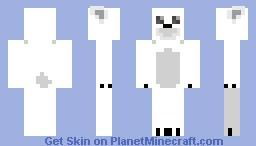 Arctic Creature Contest - Polar Bear Skin Minecraft Skin