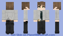 The Police Investigator Minecraft Skin