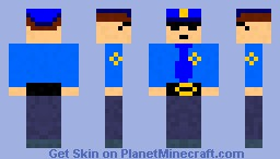 Police officer for prison Minecraft Skin
