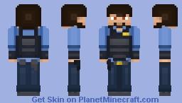 Police officer Minecraft Skin