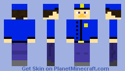 minecraft police officer