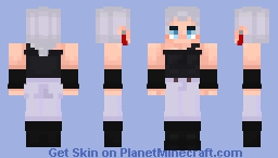 polnareff Minecraft Skin
