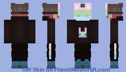 Polysexual Pride Bunny Minecraft Skin