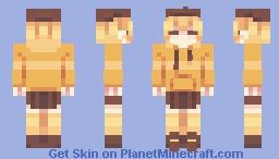 human pompompurin - sanrio Minecraft Skin